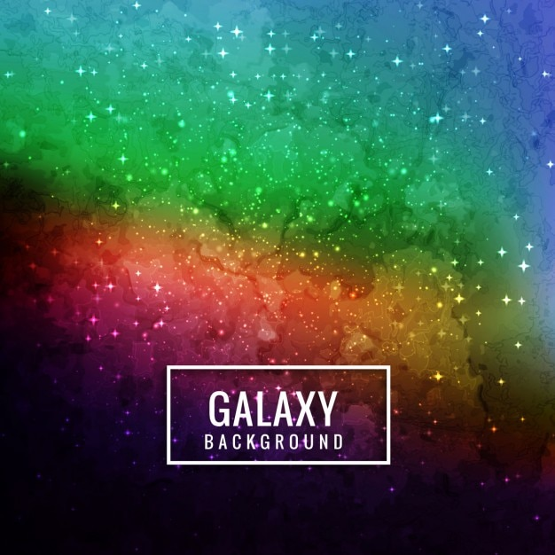 beautiful colorful galaxy background vector free download