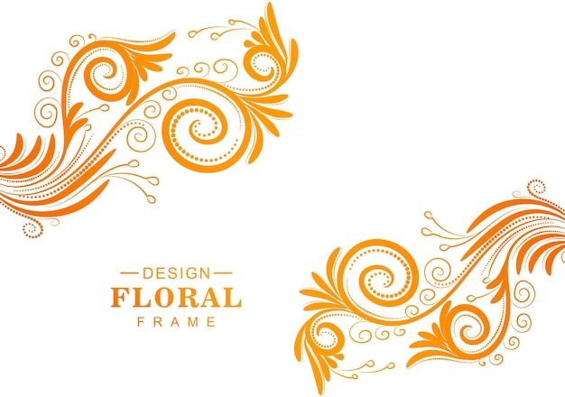 Bellissimo sfondo floreale colorato decorativo Vettore gratuito