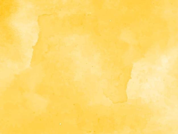 Bellissimo sfondo acquerello giallo elegante Vettore gratuito