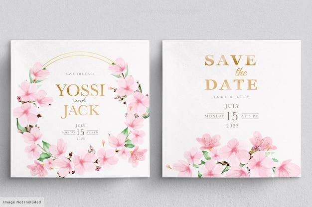 Bella ghirlanda floreale e bouquet con fiori eleganti Vettore gratuito