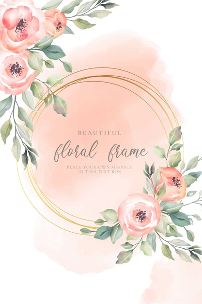Watercolor Flowers Vectors, Photos And Psd Files  Free -6314
