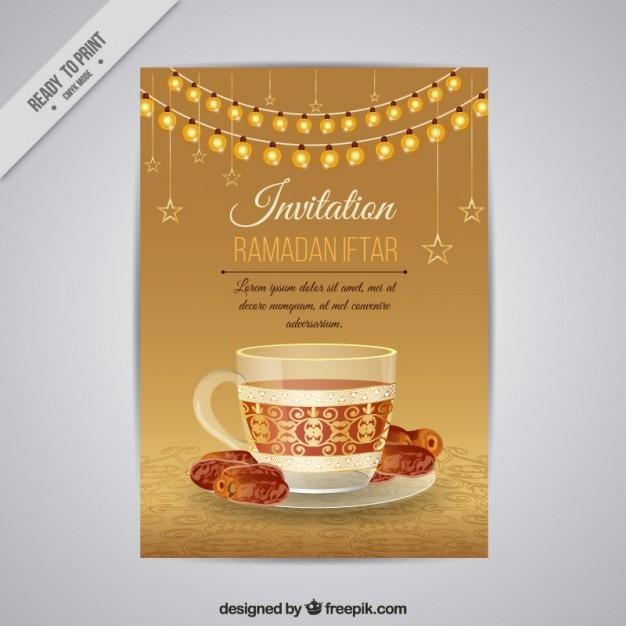 Beautiful golden ramadan iftar invitation vector premium download beautiful golden ramadan iftar invitation premium vector stopboris Image collections