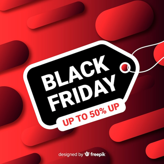 Beautiful gradient black friday Free Vector