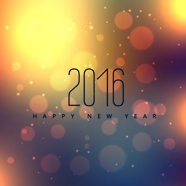 Beautiful happy new year design Vector | Free Download