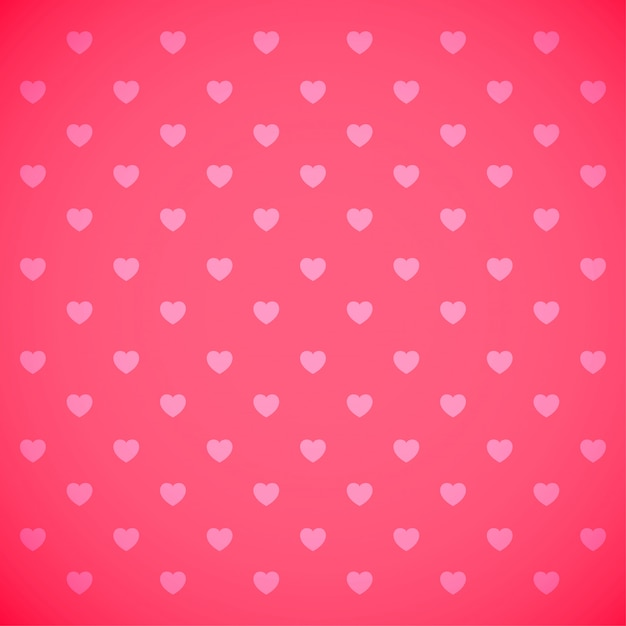 Beautiful heart background Premium Vector