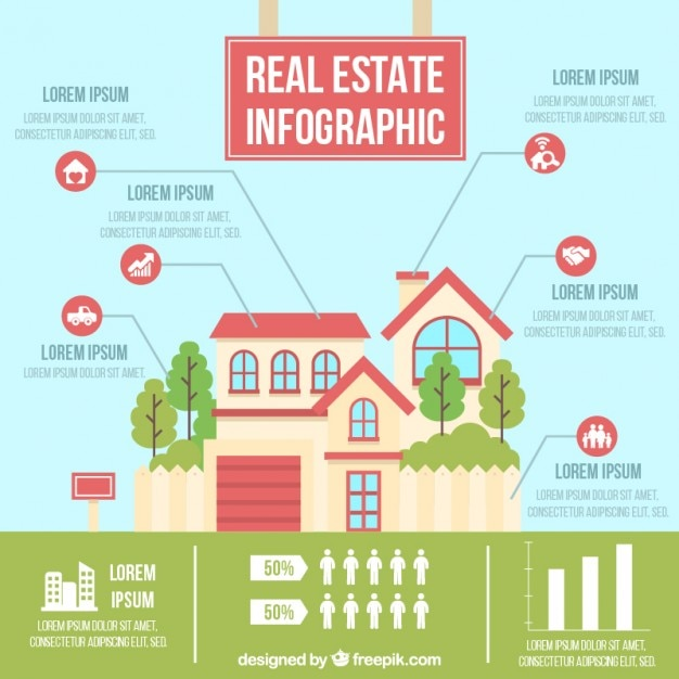 beautiful-house-real-estate-infographic_