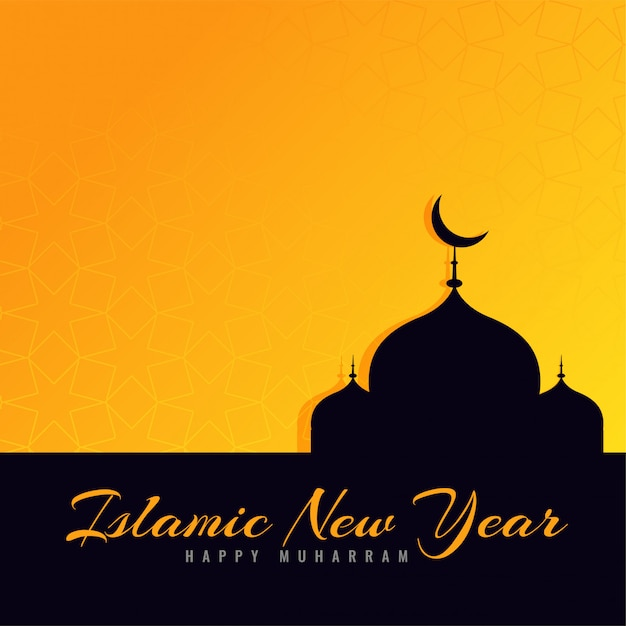 Beautiful islamic new year greeting design vector free download beautiful islamic new year greeting design free vector m4hsunfo