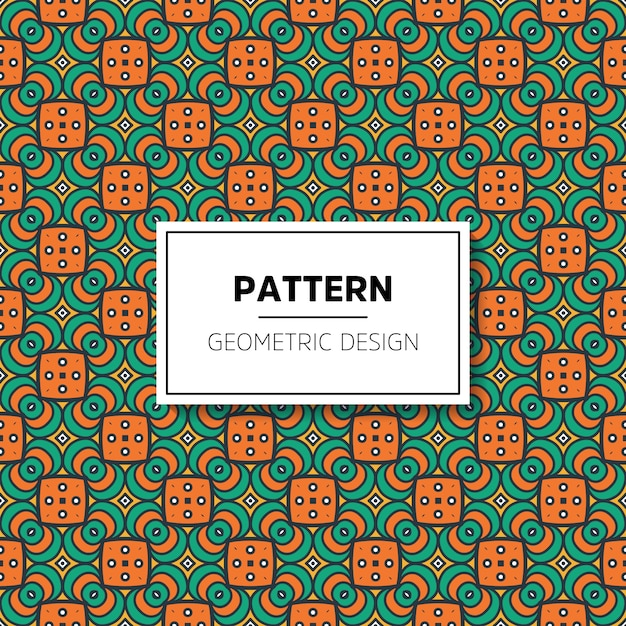 Beautiful mandala seamless pattern background design Premium Vector