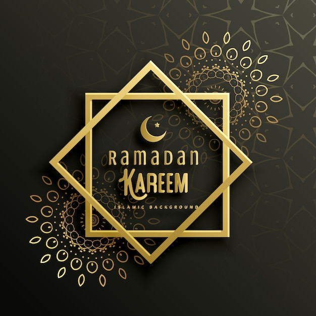 Beautiful ramadan kareem greeting card design with mandala art beautiful ramadan kareem greeting card design with mandala art free vector m4hsunfo