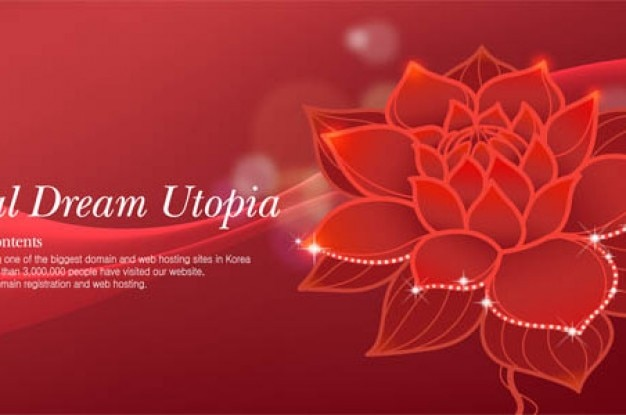 Beautiful red lotus flower abstract background vector free download beautiful red lotus flower abstract background free vector mightylinksfo