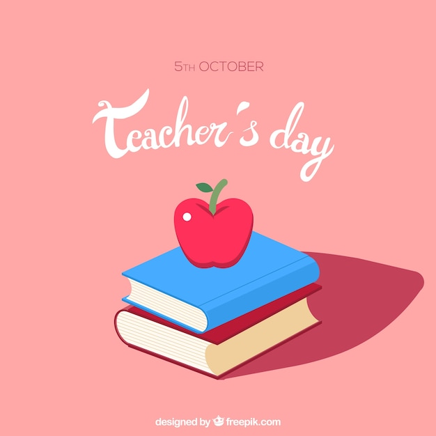 Beautiful scene for world teachers \' day