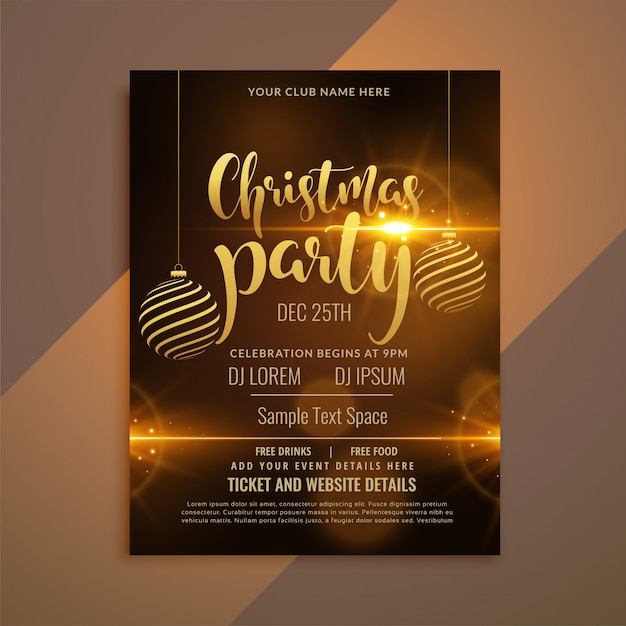 party flyer template free download