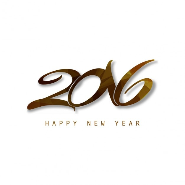 Beautiful text of new year 2016