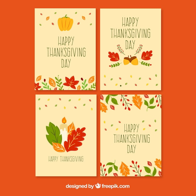 Beautiful thanksgiving cards