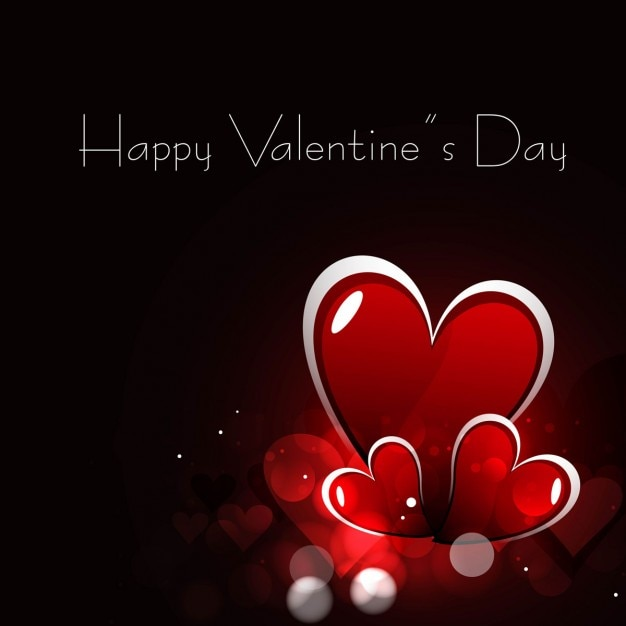 Beautiful valentines day greeting with red hearts vector free download beautiful valentines day greeting with red hearts free vector m4hsunfo