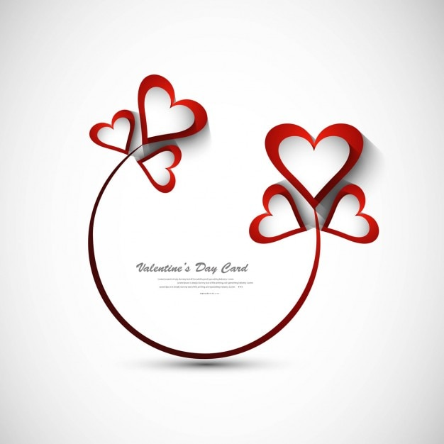 Beautiful valentines day greeting Vector – Beautiful Valentines Day Cards