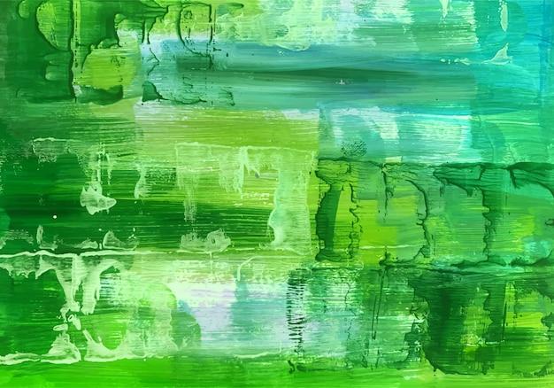 아름 다운 수채화 녹색 질감 무료 벡터