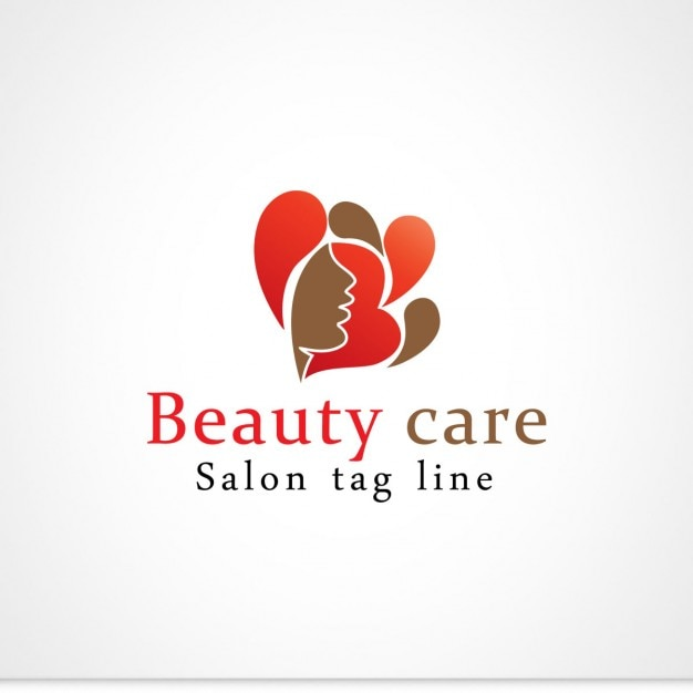 beauty care logo vector free download