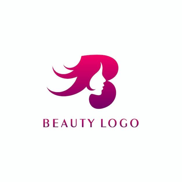 Beauty logo design Premium Vector