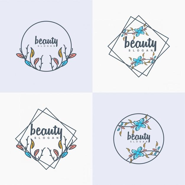 Beauty logo Premium Vector