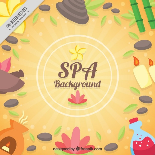 Beauty products background