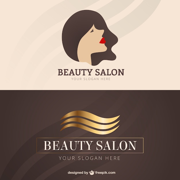 Beauty salon business card vector premium download beauty salon business card premium vector reheart Choice Image