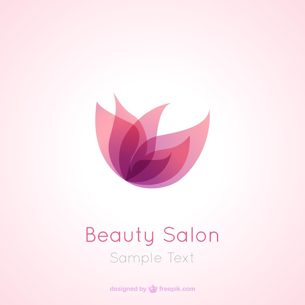 Beauty Salon Logo Free Vector