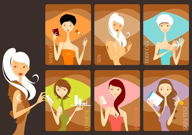 Beauty salon Free Vector