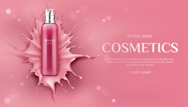 Freepik Beauty Skin Care Product Banner Vector For Free
