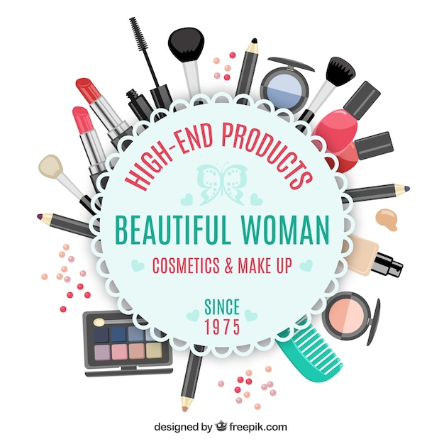 Makeup vectors photos and psd files free download for Best online store for artists