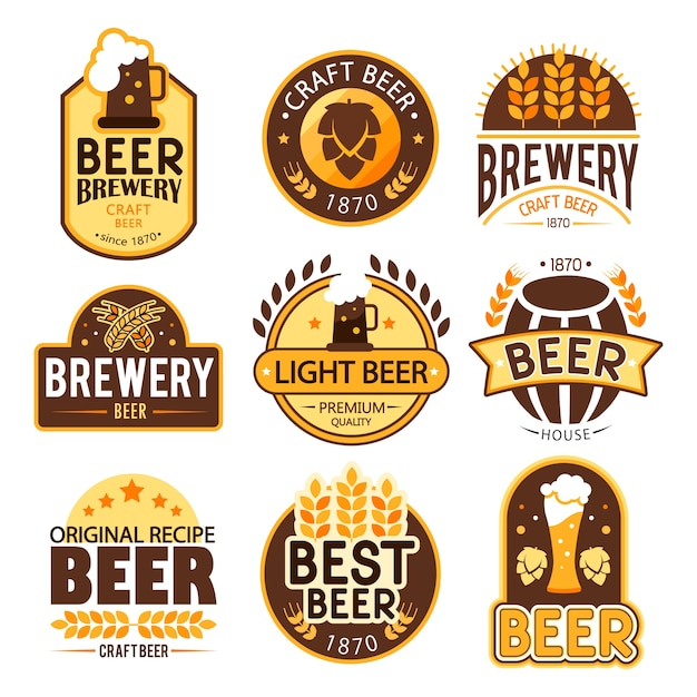 Beer Logo Collection