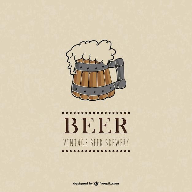 Beer logo Free Vector