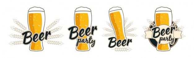 Beerf Premium Vector