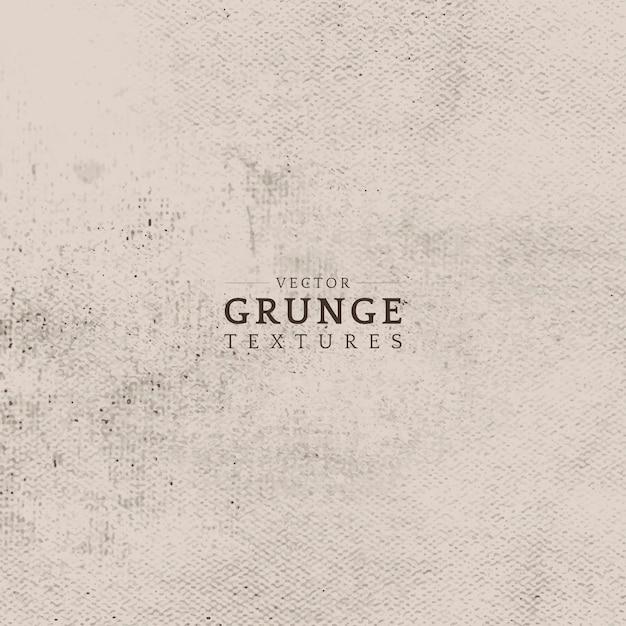 Beige grunge distressed texture vector Free Vector