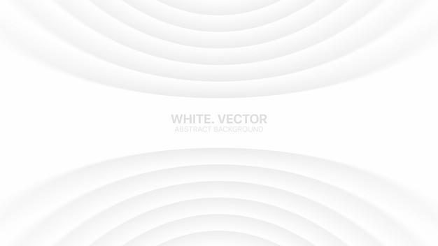 Гнутые плавные линии clear blank тонкий деловой элегантный белый Premium векторы