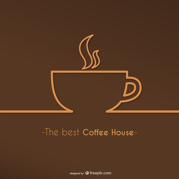 Best coffee house logo Vector | Free Download