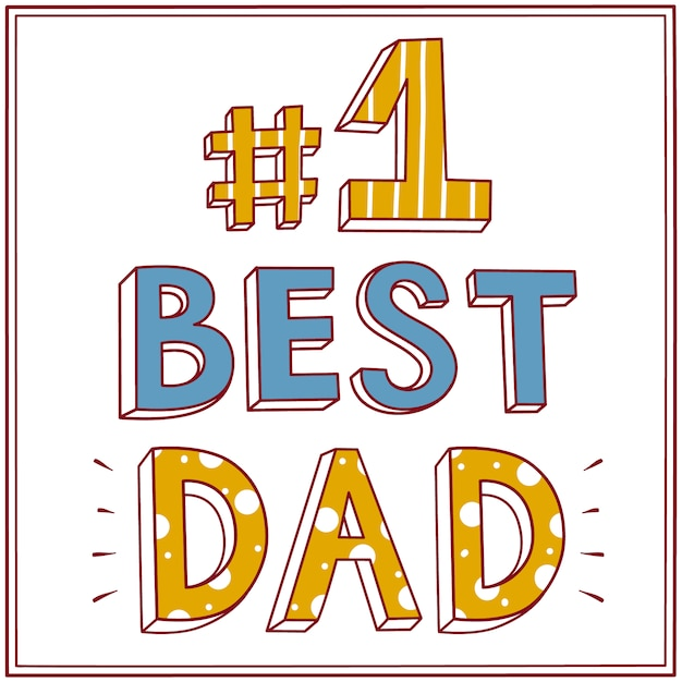 Best dad background design vector free download - I love you daddy download ...