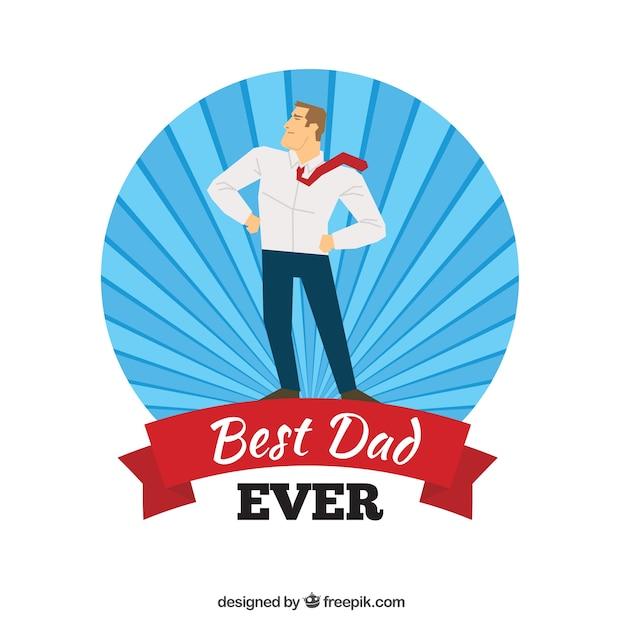 Best Dad Ever Vector Free Download