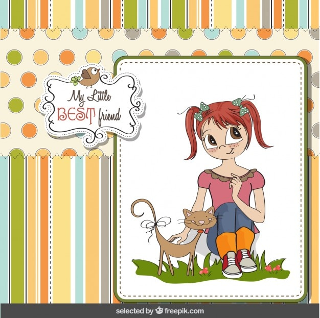 best friend card in scrapbook style stock images page everypixel