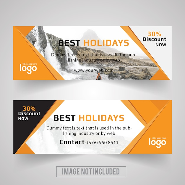 Travel Promotion Banners Racing Banners