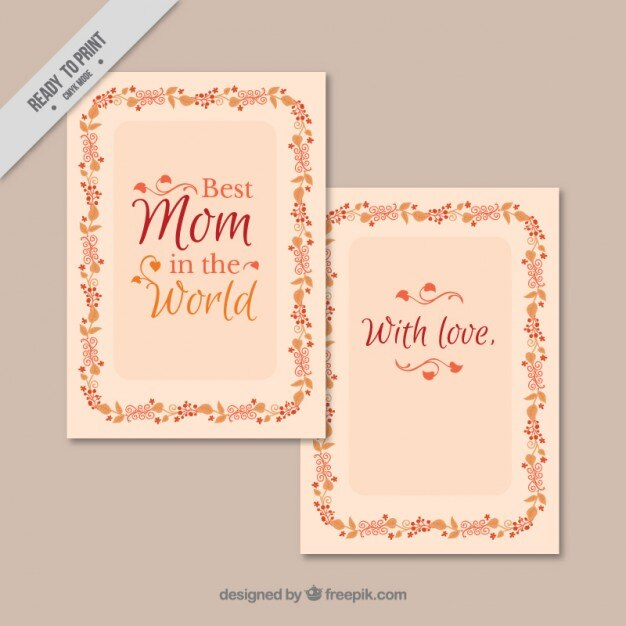 Best Mom In The World Card Vector Premium Download New World Best Mom Picture Download