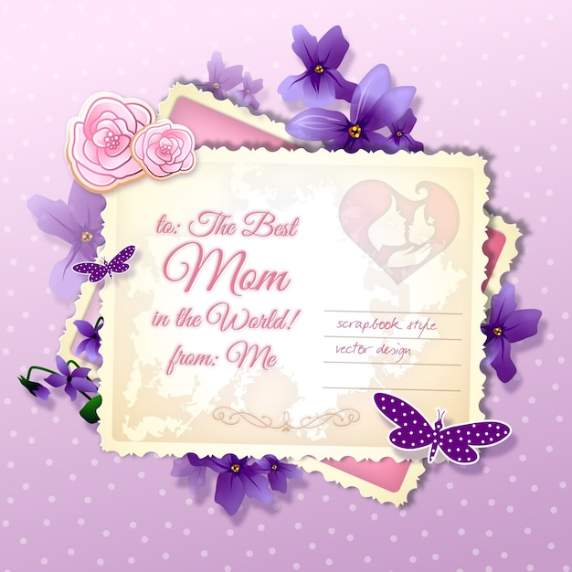 Best Mom In The World Letter Design Vector Premium Download Mesmerizing World Best Mom Picture Download