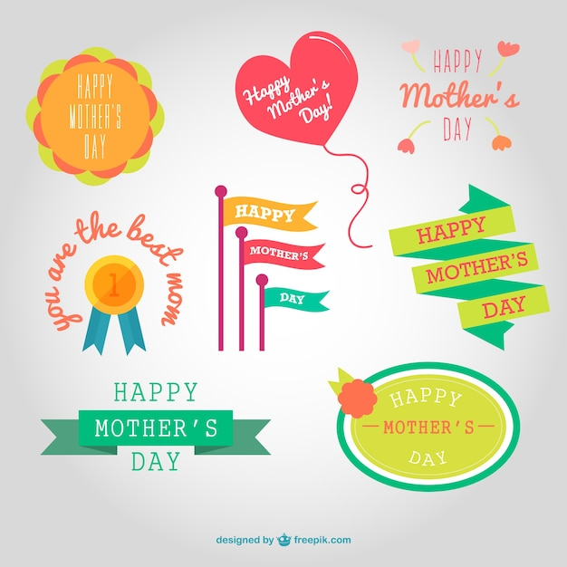Best mother graphics collection Free Vector