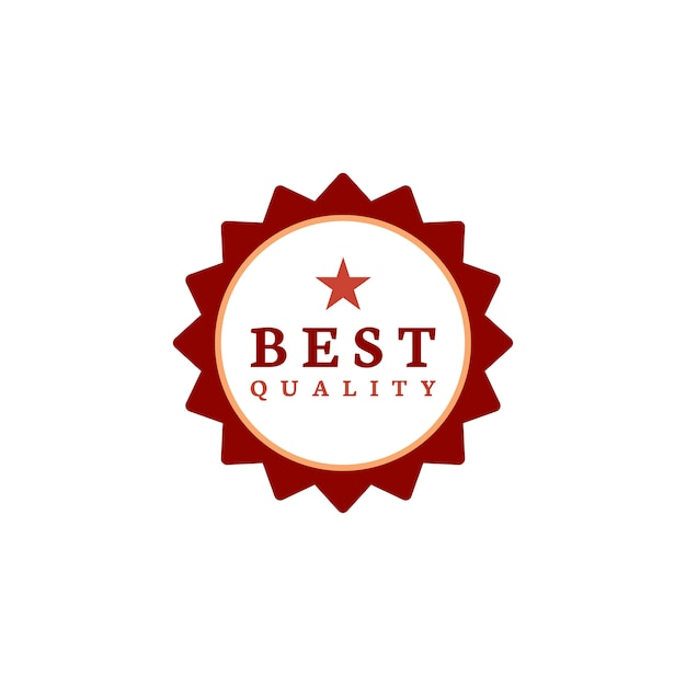 Best quality award stamp vector Free Vector