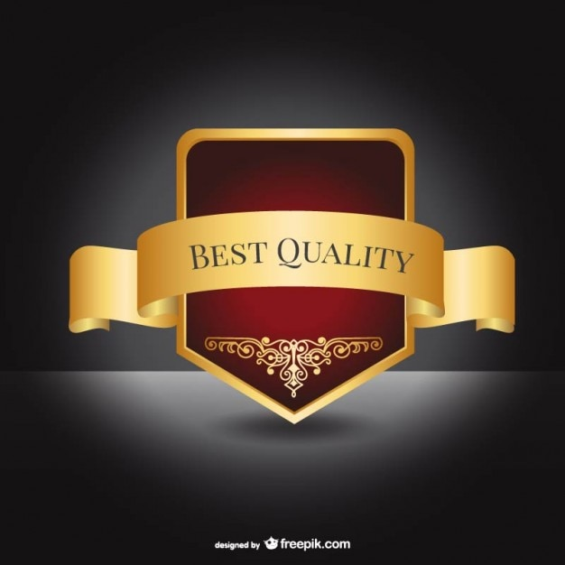 Best Quality Elegant Label Vector
