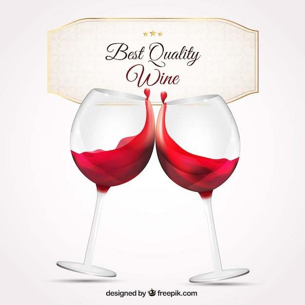 best quality wine vector free download