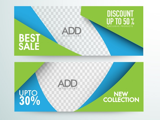 Best sale and discount website headers and banners design for Best websites for sales