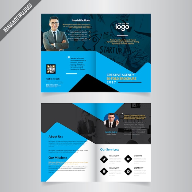 bi fold brochure templates free download - bi fold brochure template vector premium download
