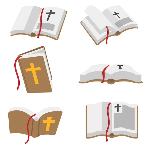 Bible book vector Premium Vector