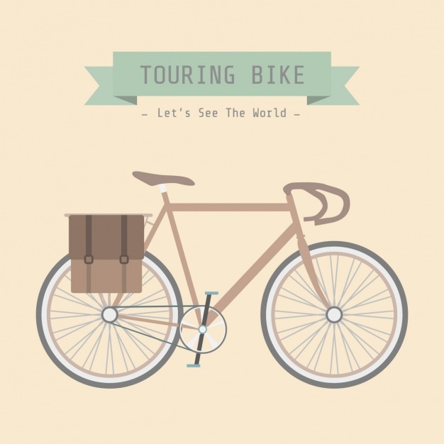Bicycle background design Vector | Free Download